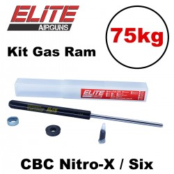 Kit Gás Ram Standard Elite Airguns 75kg CBC Nitro-X e Six
