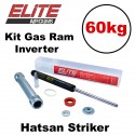 Kit Gás Ram Advanced Elite Airguns 60kg Hatsan Striker Inverter