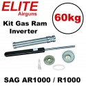 Kit Gás Ram Advanced Elite Airguns 60kg SAG AR1000 / R1000 Inverter