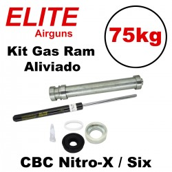 Kit Gás Ram Advanced Elite Airguns 75kg CBC Nitro-X e Six